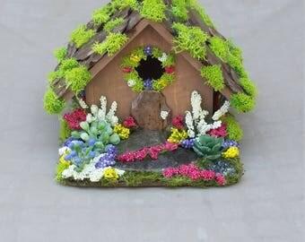 Fairy house, fairy garden house, fairy garden accessories, mini fairy house