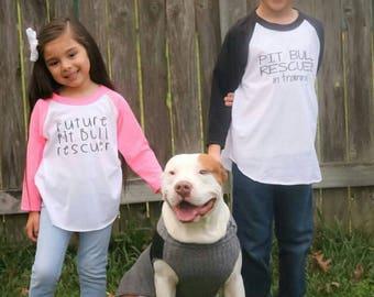 Pitbull Shirt for Kids, Pit Bull Shirt for kids, Pitbull Shirt, Pit Bull Rescuer, Pitbull Youth Shirt, Dog Kid shirt, Dog Rescue, Adoption