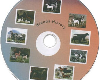 Dog Breed Articles On CD