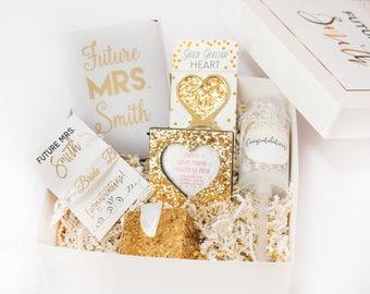 Future Mrs Box, Engagement Box, Engagement Gift, Gift for Bride to Be, Gift for Future Bride, Gift for Future MRS