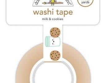 Doodlebug milk and cookies washi tape