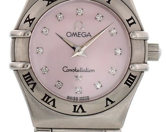Omega Constellation My Choice 1566.56.00 Diamonds
