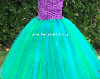 Mermaid Tutu Dress/ Ariel Tutu Dress/ Mermaid Tutu/ Mermaid Birthday Dress/ Mermaid Costume/ Ariel Birthday Dress/ Ariel Birthday