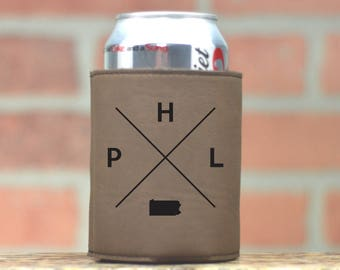 Philadelphia | Can Cooler - Custom Can Coolers - Beer Cozy - Philadelphia Pennsylvania