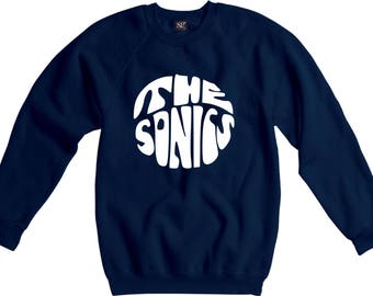The Sonics Sweatshirt - Garage Rock, 1960's, Retro, Various Colours