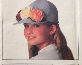 Butterick 6613 - Children's Hat Collection