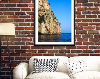 Beauty of Capri ~ Travel Photography Capri ~ Wall Art Print or Canvas (Unframed)