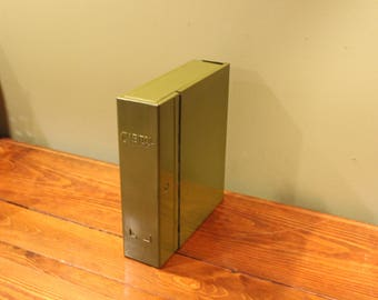 Green Capital Metal Industrial Book file -fits on shelf