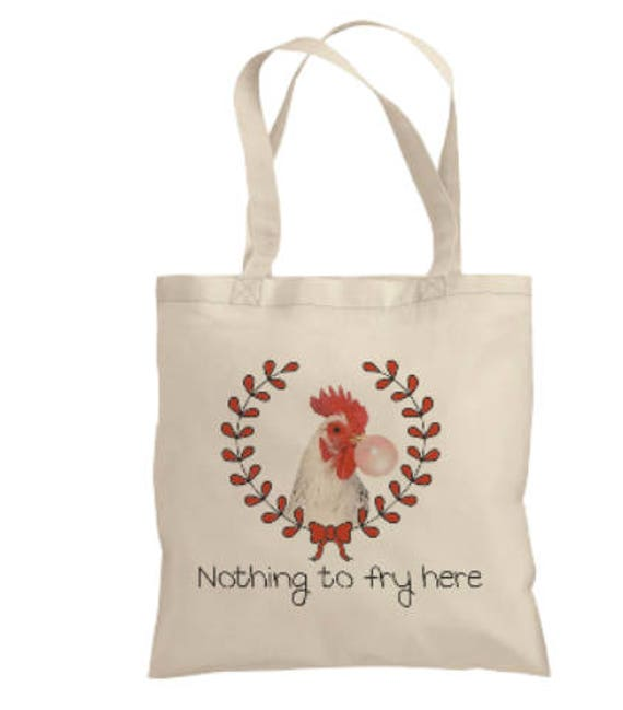 Nothing to Fry here, tote bag