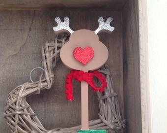 Santa's Reindeer Key by Duck Duck Goose