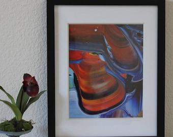 Framed photoprint