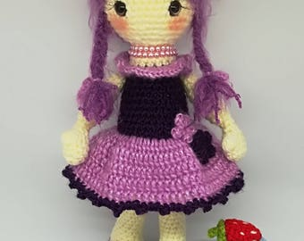 LILLY the DOLL crochet pattern