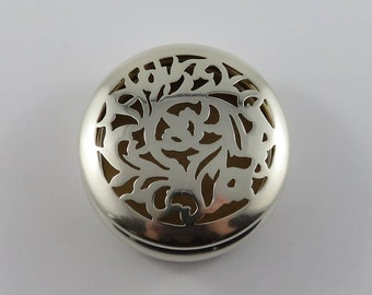 Sterling Silver English Potpourri Container by William Comyns