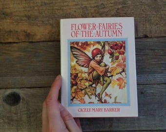 Fairies Wildflower Book - Watercolour Artist - Painting book - Gift for artist - Creative gift - Vintage Book - Botanical Book - Wildflowers