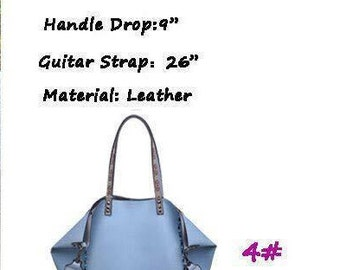 Blue Guitar Star Handbag