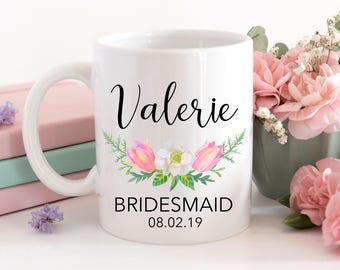 One (1) Customizable Bride, Bridesmaid, Maid of Honour, Maid of Honour, Sublimation, Personalized, Bridesmaid gIft, Maid of Honor Gift