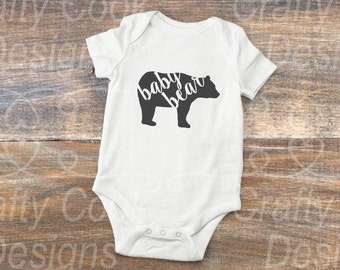 Baby Bear-Baby Bear Onesie-Sibling Outfit-Hospital Outfit-Baby Shower Gift-New Baby