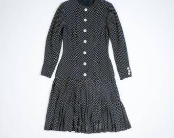 JIL SANDER - Dress with pattern