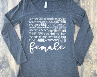 Female Keith Urban Womans Shirt / Womans Country Shirt / Country Music Shirt / Birthday Gift / Gift for Women