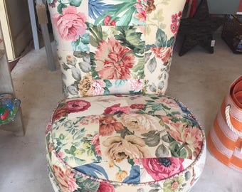 Shabby Chic Upholstered Chair