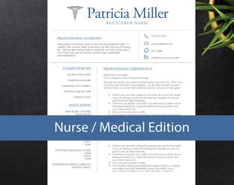 Restaurant Experience Resume Word Nurse Resume  Etsy Modern Resume Formats with Resume For College Application Template Pdf Nurse Resume Template For Word A  Letter Nursing Resume    Examples Of Objectives For A Resume Excel