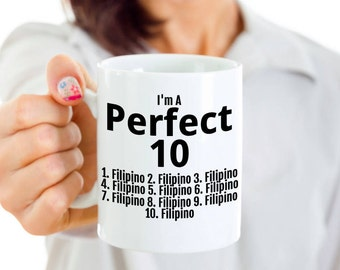 Funny Philippines Mug - Filipino Mom or Filipino Dad Gift - Filipino Pride - Philippines Gifts - For Mother's Day or Father's Day