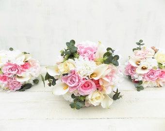 Durchstöbere silk wedding flowers auf Etsy