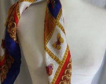 Rare Orietta Bruno silk scarf