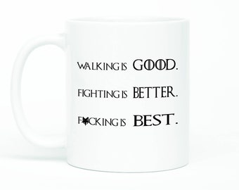 Game Of Thrones Mug, Tormund Quote Mug, Tormund Quote, Beyond The Wall, Nights Watch, Game Of Thrones Cup,Season 7 Quote, King In The North