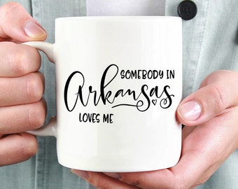 Arkansas Mug,Arkansas State,State Mug,Miss You Mug,Moving Mug,I Love You Mug,I Love My Girlfriend,I Love My Boyfriend,She Loves Me
