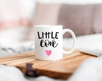 Little Love Mug,I Love You Mug,Girlfriend Mug,Boyfriend Mug,Anniversary Mug,Valentines Day Gift,Long Distance Relationship,Love Gift