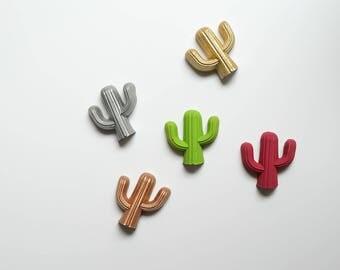 Cactus magnets refrigerator magnets concrete succulent magnets beton magnet set home decor home decoration fridge magnet cute magnet
