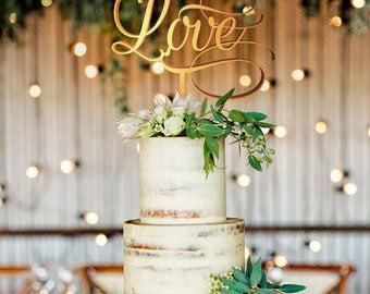 Wedding Cake Topper, Personalized Topper, Custom Cake Topper, Cake Decorations, Wedding Cake Topper Love ,Cake Decoration , Love Topper Love