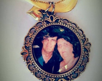 Special Occasion Wedding Memorial Memories Keepsake Personalised Cabochon