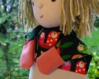 Hand puppet Amber