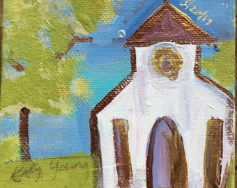 Small church painting
