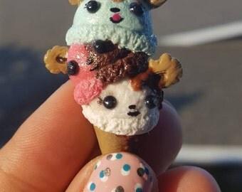 Handmade Num Nom ice cream miniature
