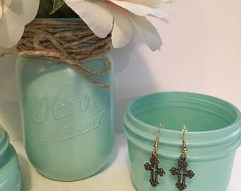Croix en boucles d'oreilles, crochets sans Nickel, bijoux religieux, Religion charme, bijoux, boucles d'oreilles, breloque boucles d'oreilles, breloque religieuse de croix