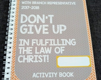 JW Childrens Circuit Assembly Activity Book Don't Give Up: In Fulfilling the Law of Christ 2017-18