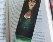 Witch bookmark, Halloween...
