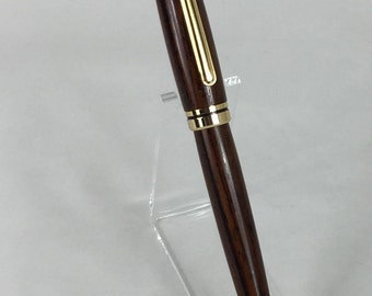 Cocobolo Handcrafted Wood Euro Pen #101 w/ Box