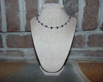 Gray Layering Necklace