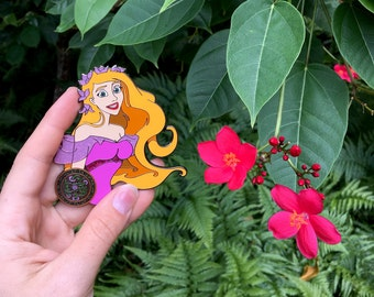 Jumbo Enchanted Giselle Fantasy Pin 3 1/4""