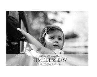 Timeless B+W | Adobe Lightroom Preset