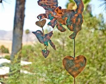 Cat Metal Garden Art Stake, Metal Copper Yard Art, Pet Memorial, Cat Sculpture, Pet Cat Sign, Pet Loss, Outdoor Cat Sign, Memorial Cat Art,