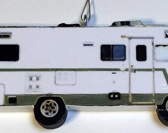 Winnebago Indian Camper RV Ornament