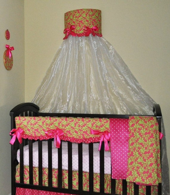 Bumperless Baby Crib Bedding Set Of 6pc Clearance Sale