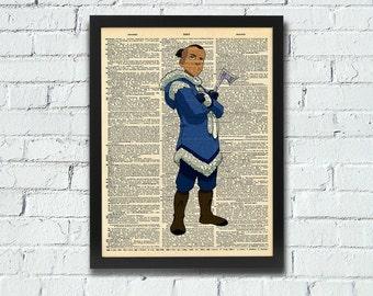 Avatar: The Last Airbender Sokka Dictionary Art