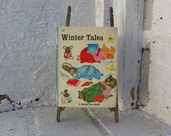 Little Golden Star Book, Winter Tales by Kathryn Jackson 1967 Illustrated by Richard Scarry