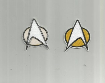 Star Trek Iron-On Clothing Patch